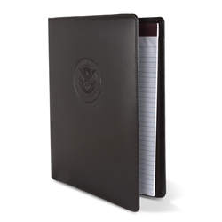 DHS Brown Leather Portfolio