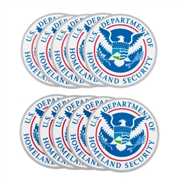 DHS Seal Vinyl Stickers (10 pack)