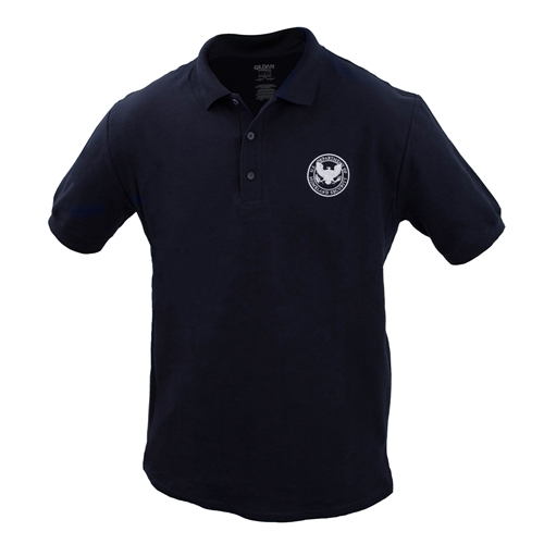 DHS Cotton Sport Polo - Navy