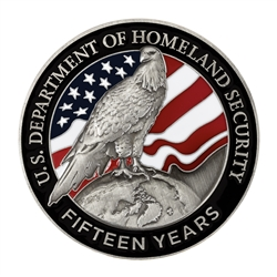 DHS 15th Anniversary Coin