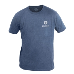 Heather Navy 60/40 T-Shirt (CBP)
