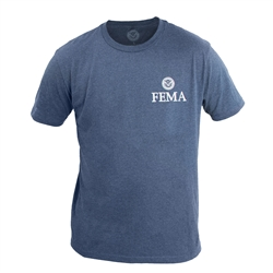 Heather Navy 60/40 T-Shirt (FEMA)