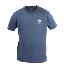 Heather Navy 60/40 T-Shirt (ICE)