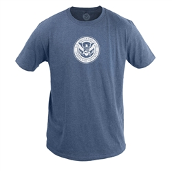 Heather Navy 60/40 T-Shirt (DHS)