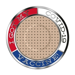 COVID-19 Vaccine Lapel Pin