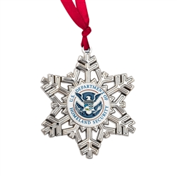 DHS Snowflake Ornament