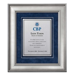 Shadow Box Plaque - Silver (CBP)