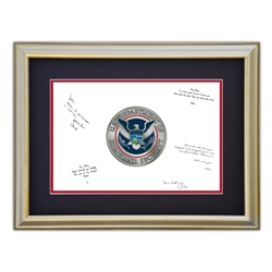DHS Framed Signature Board
