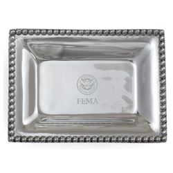 FEMA Small Pewter Tray