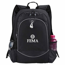 "FEMA Black 15"" Computer Backpack"