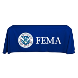 FEMA Navy Tablecloth