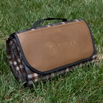 FEMA Brown Plaid Picnic Blanket