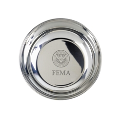 FEMA Pewter Candy Dish