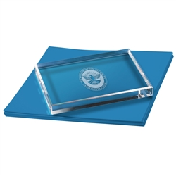 TSA Rectangle Paperweight