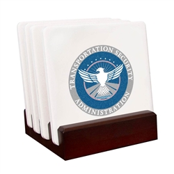 TSA Custom Stone Coaster Gift Set