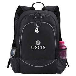 "USCIS 15"" Computer Backpack (Black)"