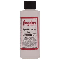 Angelus Dye Reducer for Leather Dye 4 fl oz