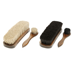 "Executive 8.25"" Shoe Shine Brush Kit"