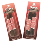 Dress Shoelaces - Waxed Round - 2 pair