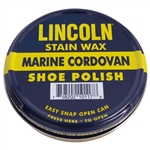 Lincoln Stain Wax Polish Tin