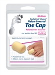 Podiatrists' Choice Nylon-Covered Toe Cap Product  - P34