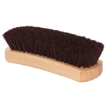"Standard 6.75"" Shoe Shine Brush - Dark Bristles"