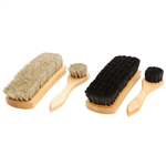 "Standard 6.75"" Shoe Shine Brush Kit"