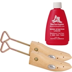 Women's Professional Shoe Stretchers & Stretching Fluid - 1 PAIR