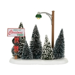 Department 56 Village Lit Christmas Tree Lot