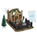 Dickens Village Christmas Carol Cemetery Boxed Set