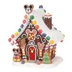 Disney Village Mickey's Gingerbread House