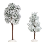 Department 56 Village Snowy Jack Pine Trees