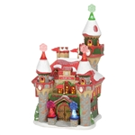 North Pole Santa's Snowflake Palace