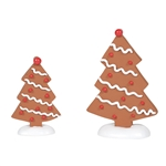 Department 56 Village Gingerbread Trees