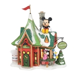 Department 56 North Pole Mickey's Stuffed Animals