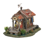 Department 56 Halloween Haunted Swamp Shanty