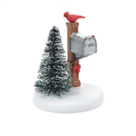 Department 56 Village Cardinal Mailbox