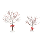 Department 56 Village Crabapple Tree With Ribbon