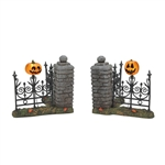 Department 56 Jack O'Lantern Lit Corners