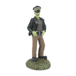 Department 56 Munsters Herman the Punk Rod