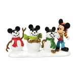 Department 56 Disney Village The Three Mouseketeers