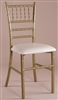 Wholesale Price for Gold Chiavari Metal Chair w Free Cushion