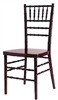 Mahogany Chiavari chairs, cheap prices chiavari chairs
