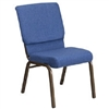 "BLUE 18.5"" Chapel Chair"