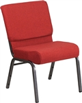 "<span style=""font-size: 11pt; color: rgb(0, 0, 128);"">Red 21"" Wide Church Chair </span>"