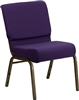 "<span style=""font-size: 11pt; color: rgb(0, 0, 128);"">Purple 21"" Wide Church Chair </span>"