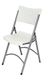 Wholesale White Molded Comfort Folding Chair