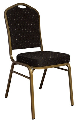 Black Banquet Chairs, Fabric Cushion Banquet Chair