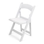 Free Shipping Wholesale White Wood Chair