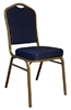 BANQUET CHAIRS: Blue Fabric  Banquet Chair, cheap banquet chairs, discount banquet chairs